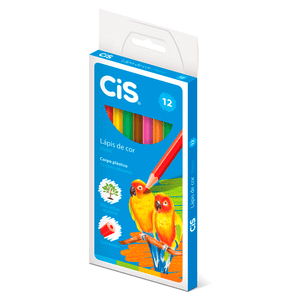 Lapis-de-cor-Sextavado-Plastic-Estojo-com-12-Cores---Cis