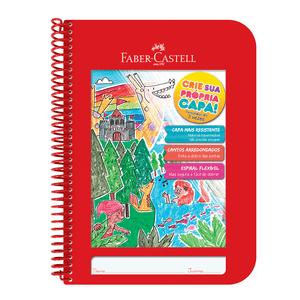 Caderno-Criativo-1x1-96-Fls-Capa-Plastica-Vermelho---Faber-Castell