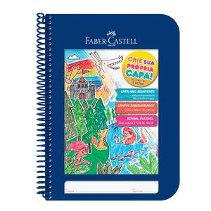 Caderno-Criativo-1x1-96-Fls-Capa-Plastica-Azul---Faber-Castell