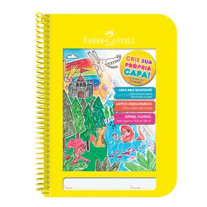 Caderno-Criativo-1x1-96-Fls-Capa-Plastica-Amarelo---Faber-Castell