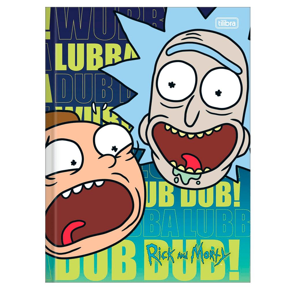 Brochurao-C.D.-80-Fls-Tilibra---Rick-and-Morty-2