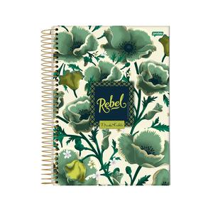 Caderno-14-C.D.-96-Folhas-Jandaia---Frida-Kahlo-2