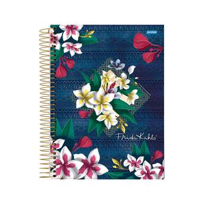 Caderno-14-C.D.-96-Folhas-Jandaia---Frida-Kahlo-4