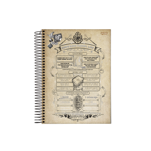Caderneta-18-C.D.-96-Folhas-Jandaia---Harry-Potter-1