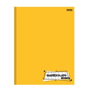 Caderno-Pedagogico-Brochura-C.D.-40-fls-Quadriculado-1x1cm-Amarelo---Sao-D.-2