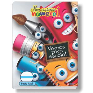Caderno-Pedagogico-C.D.-Brochura-Pauta-Azul-Tamoio---Meu-Caderno-N°1-Capa-6