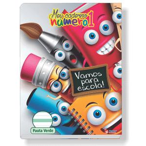 Caderno-Pedagogico-C.D.-Brochura-Pauta-Verde-Tamoio---Meu-Caderno-N°1-Capa-6