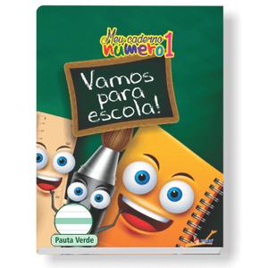 Caderno-Pedagogico-C.D.-Brochura-Pauta-Verde-Tamoio---Meu-Caderno-N°1-Capa-8