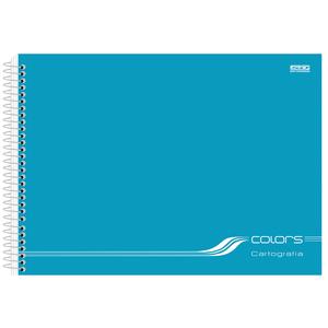 Cartografia-C.D.-60-fls-Sao-D.---Colors-Azul