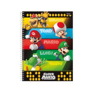 Caderno-14-96-fls-C.D.-Foroni---Super-Mario-3