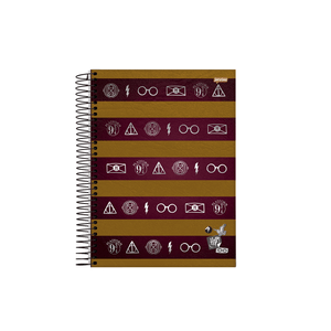 Caderneta-18-C.D.-96-Folhas-Jandaia---Harry-Potter-3