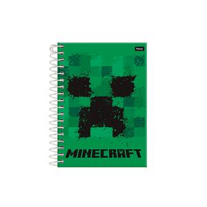 Caderneta-18-C.D.-96-Folhas-Jandaia---Minecraft-1