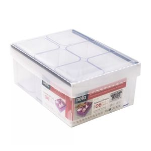 caixa-organizadora-de-objetos-com-6-porta-objetos-dello