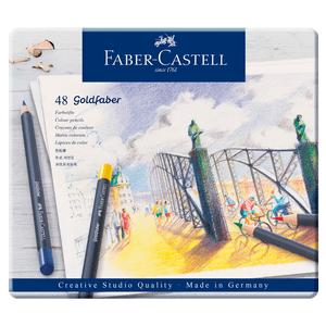 Lapis-de-Cor-Goldfaber-Estojo-de-Lata-com-48-Cores---Faber-Castell