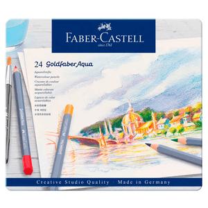 Lapis-de-Cor-Aquarelavel-Goldfaber-Aqua-Estojo-de-Metal-24-Cores---Faber-Castell