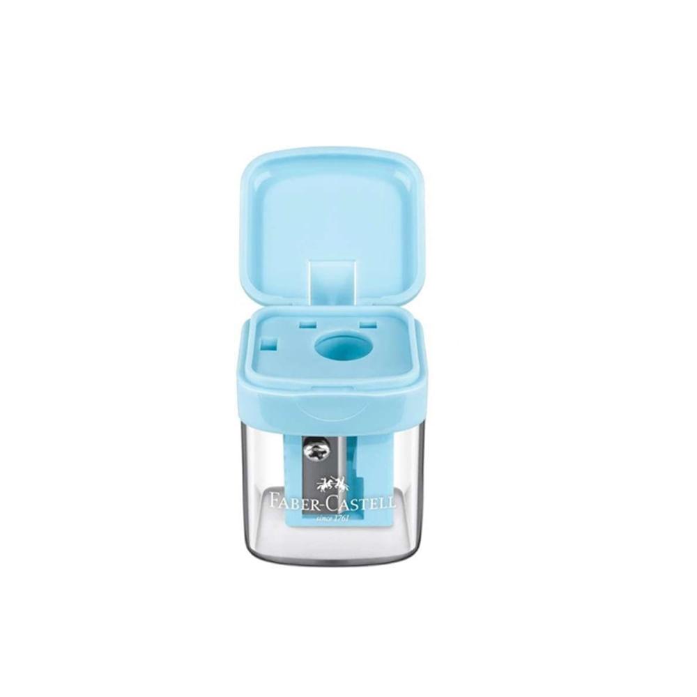 apontador-minibox-azul-faber-castell-detalhe