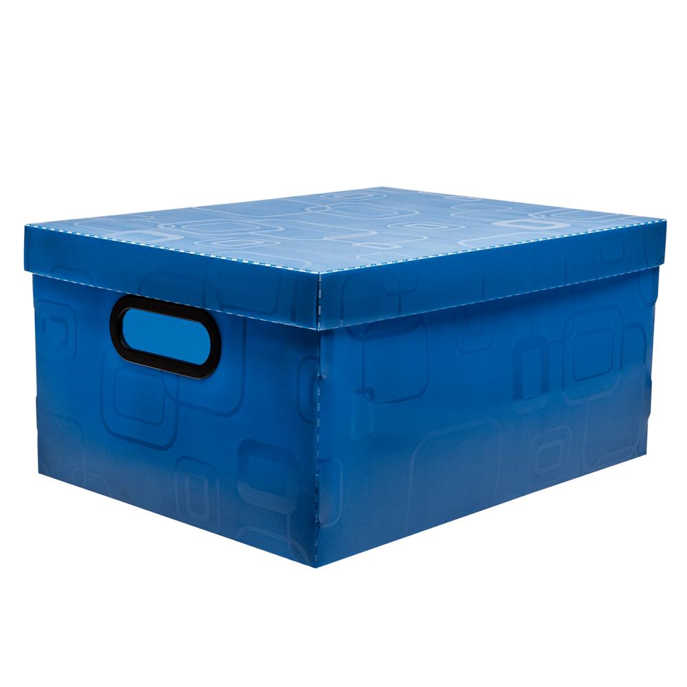 caixa--organizadora--media--azul--dello
