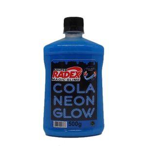 Cola-Neon-Glow-Azul-500g---Radex