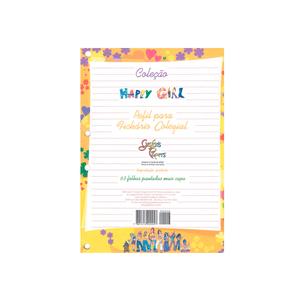 Bloco-para-Fichario-1-4-63-Folhas-Happy-Girl---Grafons