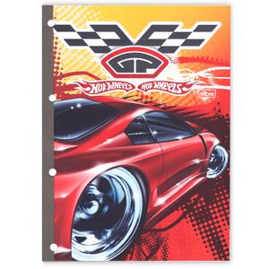 Bloco-para-Fichario-96-Folhas-Hot-Wheels-1---Tilibra