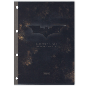Bloco-para-Fichario-96-Folhas-Batman---Tilibra
