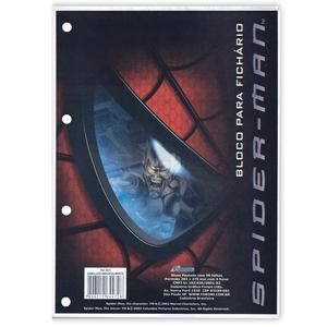 Bloco-para-Fichario-96-Folhas-Spiderman---Foroni