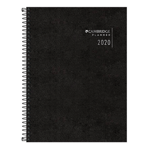 Agenda-Planner-Executiva-Espiral-Cambridge-M7-2020---Tilibra