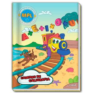 Caderno-Pedagogico-C.D.-Brochura-Caligrafia-MPL-40-Fls---Credeal