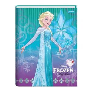 Caderno-Pedagogico-C.D.-Brochura-Caligrafia-Jandaia---Frozen