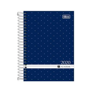 Agenda-Espiral-M5-Academie-2020-Azul---Tilibra