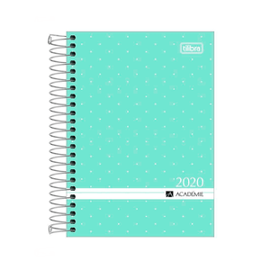 Agenda-Espiral-M5-Academie-2020-Verde-Pastel---Tilibra