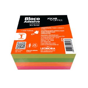Bloco-Adesivo-Recado-76x76-Colorido-400-Folhas---Jocar-Office