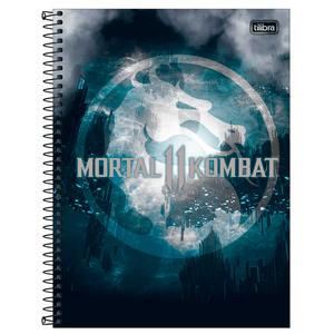 Caderno-Universitario-1x1-80-fls-C.D.-Tilibra---Mortal-Kombat-3