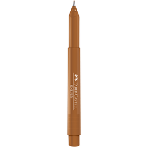 Caneta-Fine-Pen-0.4-Chocolate-Quente---Faber-Castell