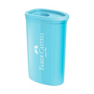 Apontador-com-DepositoTriangular-Azul-Pastel---Faber-Castell