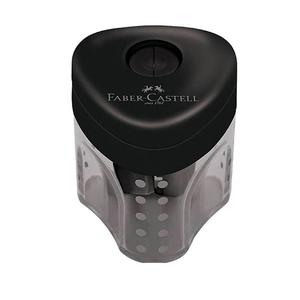 Apontador-com-Deposito-Mini-Grip-2001-Preto---Faber-Castell
