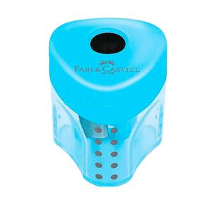Apontador-com-Deposito-Mini-Grip-2001-Azul---Faber-Castell