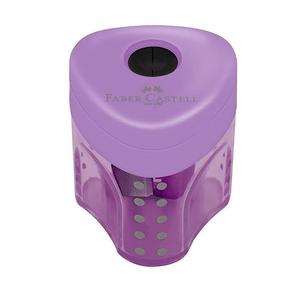 Apontador-com-Deposito-Mini-Grip-2001-Roxo---Faber-Castell