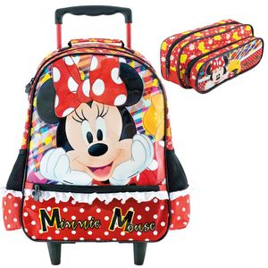 Mochila-de-Rodinhas---Estojo-Minnie-It-s-All-About-Minnie-16-----Xeryus