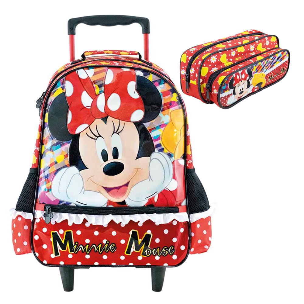 Mochila-de-Rodinhas---Estojo-Minnie-It-s-All-About-Minnie-14-----Xeryus