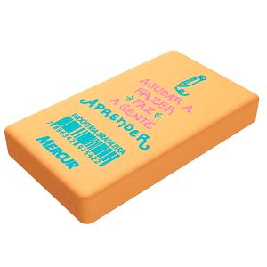 Borracha-Retangular-Color-Amarelo---Mercur
