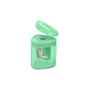 Apontador-com-Deposito-Triangular-Verde-Pastel---Tris