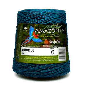 Barbante-Amazonia-Nº-6-com-600g-Sao-Joao---Cor-42-Azul-Petroleo