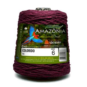 Barbante-Amazonia-Nº-6-com-600g-Sao-Joao---Cor-32-Vinho