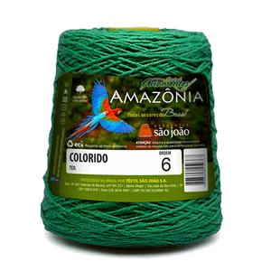 Barbante-Amazonia-Nº-6-com-600g-Sao-Joao---Cor-30-Verde-Bandeira