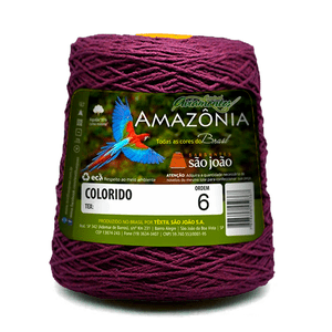 Barbante-Amazonia-Nº-6-com-600g-Sao-Joao---Cor-11-Bordo