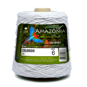 Barbante-Amazonia-Nº-6-com-600g-Sao-Joao---Cor-8-Branco