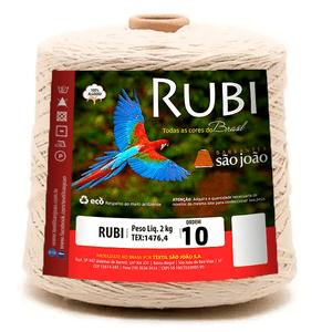 Barbante-Rubi-Cru-Nº-10-com-2kg---Sao-Joao