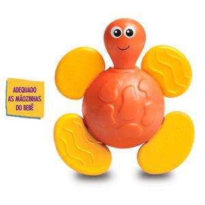 Chocalho-e-Mordedor-Bichitos-Tartaruga-Vermelha---Elka