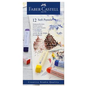Giz-Pastel-Seco-Longo-12-Cores---Faber-Castell